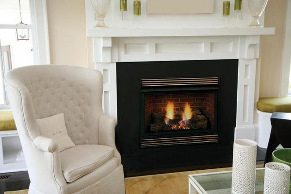 "Ventless Propane Fireplaces | Home > Fireplaces > Vent Free Fireplaces > Majestic VFH 32"" Ventless ..."