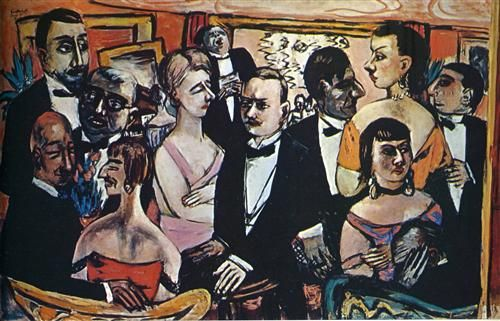 Party in Paris - Max Beckmann: