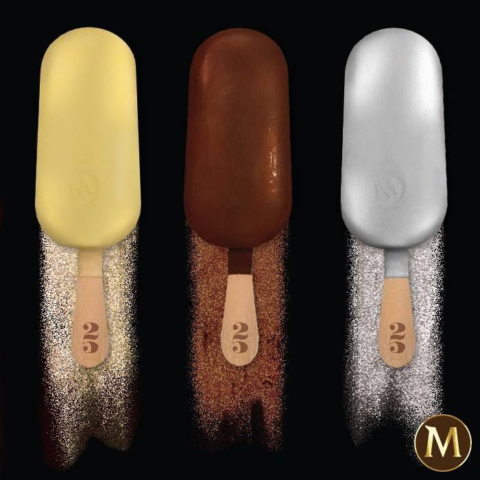 Οι τρεις λατρεμένες γεύσεις του Magic αλληλοσυμπληρώνουν την απόλυτη απόλαυση παγωτού!