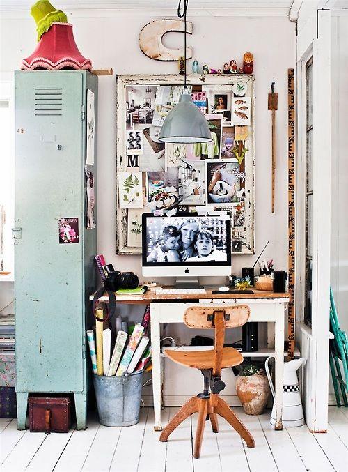 Office Inspiration | Love the locker