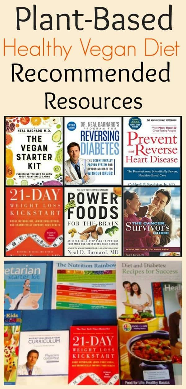 Plant Based Resource Recommendations: Books, DVDs, and Kits