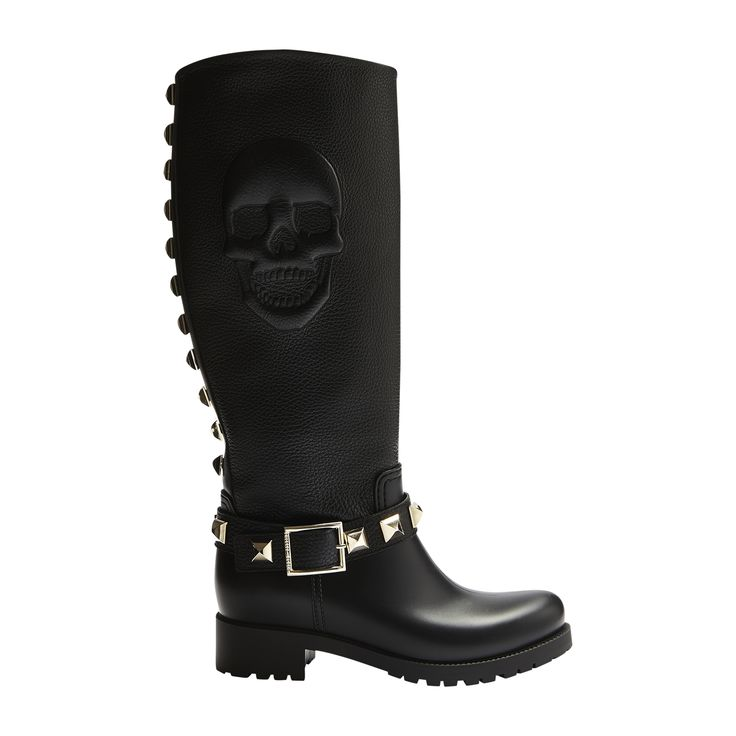 #philippplein #fallwinter2014 #fw2014 #shoes #boots #ribbed #dented #studded