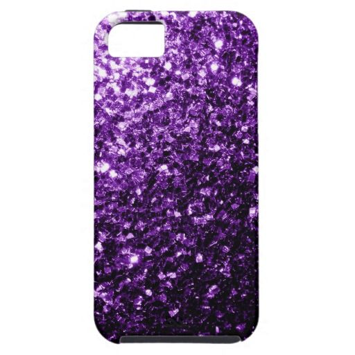 Sold 23rd time! Thank you! Beautiful Purple glitter sparkles iPhone 5/5S Case Cover by #PLdesign #PurpleSparkles #SparklesGift #SparklesiPhone #SparklesCase #iPhone #BestSeller #PLdesignBestSeller