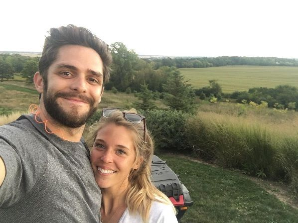 Thomas Rhett Dishes on Falling in Love at a Young Age