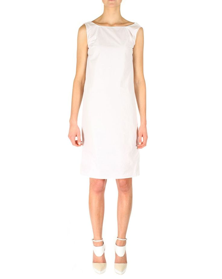 Poker Dress in Optical White by Zambesi