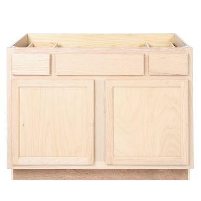 """Unfinished Bathroom Vanity Sink Base Cabinet 45"""""""