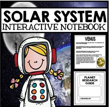 { Solar System Space Unit Lessons Activities Questions Projects Interactive Notebooks All About Space Planets Astronauts Sun Moon Stars } Solar System, Space, and Astronauts: Complete Interactive Notebook UnitSUBJECT: Science, Space, Solar SystemLEVEL: Elementary GradesHuge 116 Page Package!!!This giant package of resources contains everything you need to complete an engaging Interactive Notebook unit on space.