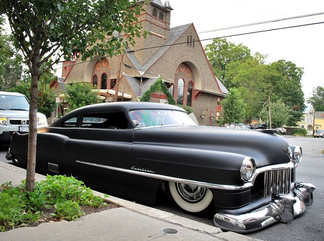 1950 Cadillac Roadster - this is such an awesome ride.