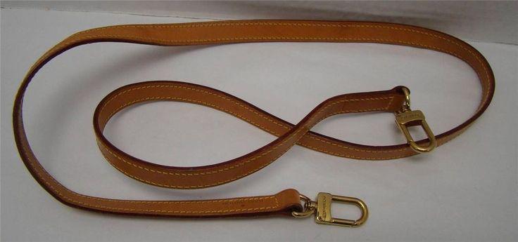 Louis Vuitton Shoulder Purse Strap 44 Quot Vachetta Leather