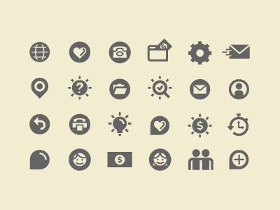 Just some icons by Ryan Feerer