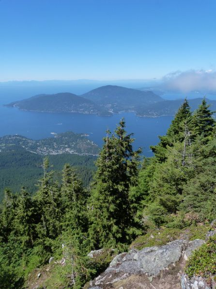 Views from Cypress Mountain over Howe Sound on Vancouver's North Shore  Vancouver is number one of my five favourite places that I will definitely revisit, read my post to find out the rest http://bit.ly/1srMsyn via The World on my Necklace
