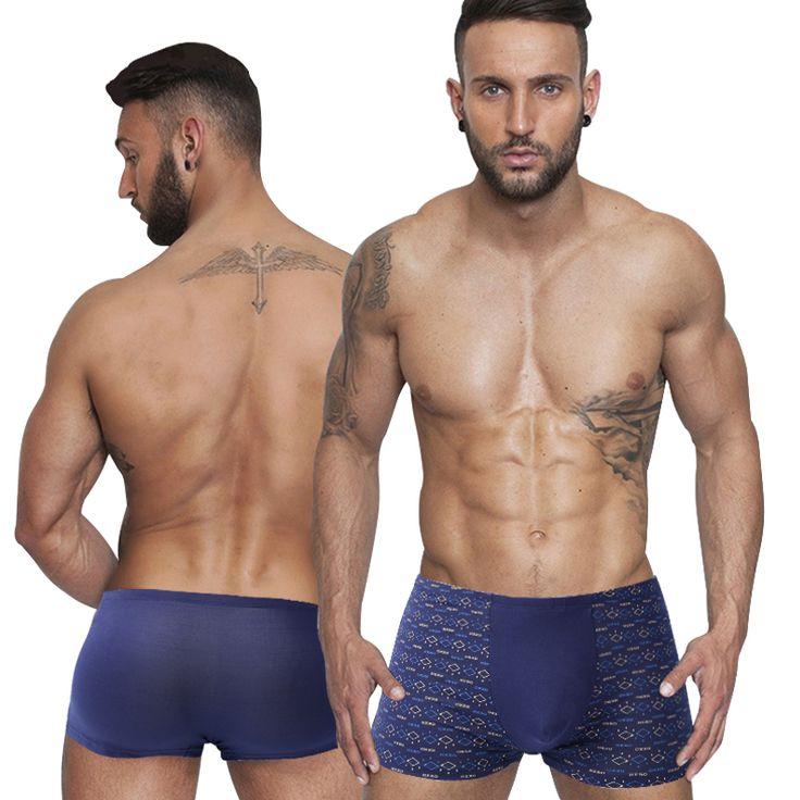 2016 New Mens Underwear Cotton Comfortable Men Boxers Printed Men's Boxer Shorts Underpants Brand Pants Plus Size XXL-7XL [Affiliate]