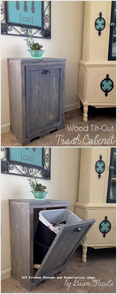 10 Insanely Sensible DIY Kitchen Storage Ideas 31 Kitchen Storage