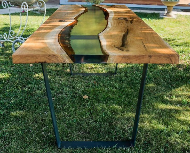 612 best epoxy moveis images on pinterest carpentry furniture ideas and wood tables - Table resine epoxy ...
