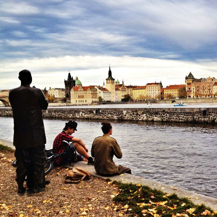 Malostranské nábřeží (embankment) , Praha by Roman Rogner on 500px