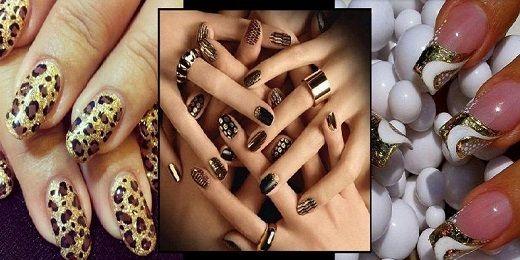 Χειμωνιάτικα σχέδια για νύχια με glitter!