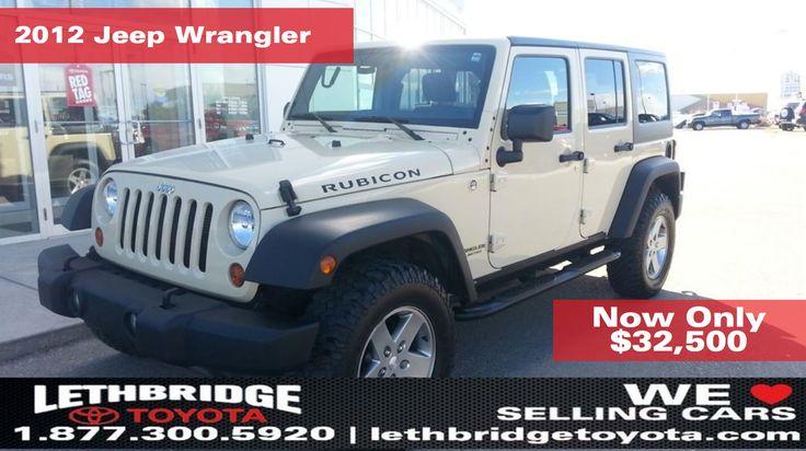 2012 Jeep Wrangler for sale in Lethbridge, AB Canada