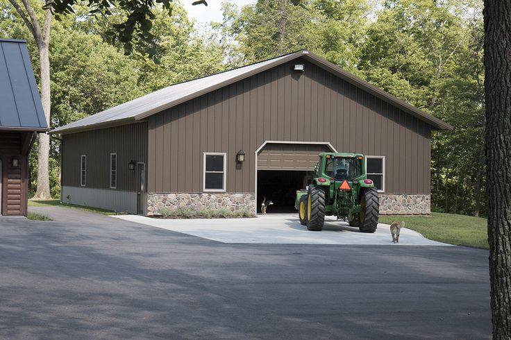 112 best pole barn images on pinterest pole barn garage for Barn home builders indiana