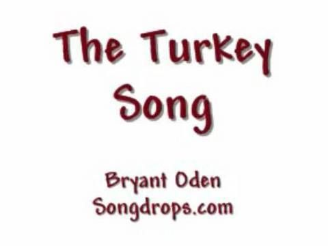 The Turkey Song: A Funny Thanksgiving Song - YouTube