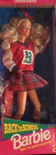 Vintage 1992 Back to School Barbie