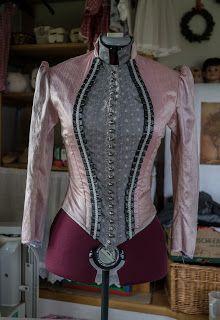 Victorian Dress pt. 9 - bodice (3) ~ bettina's blog