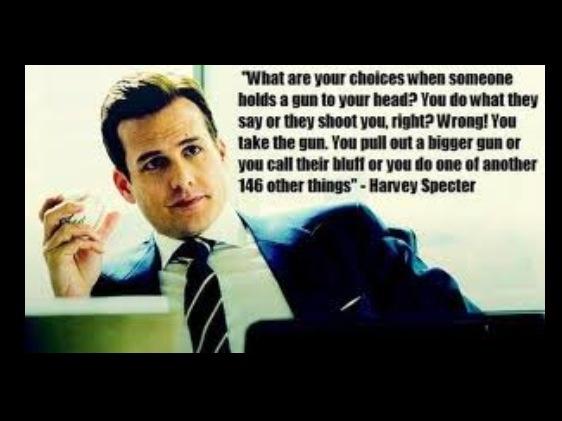 how to talk like harvey specter