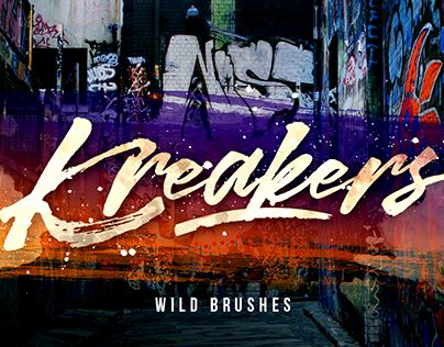 "Check out new work on my @Behance portfolio: ""Kreakers + Swash Font"" http://be.net/gallery/51022839/Kreakers-Swash-Font"