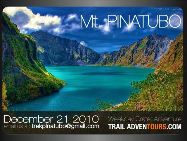 Mount Pinatubo  (Zambales, Philippines)