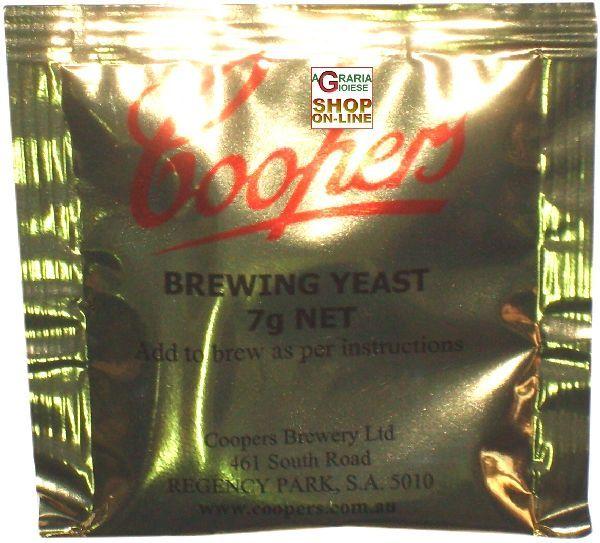 LIEVITO COOPERS BREWING YEAST 7 GR. https://www.chiaradecaria.it/it/birra-fai-da-te/9976-lievito-coopers-brewing-yeast-7-gr-088119000074.html