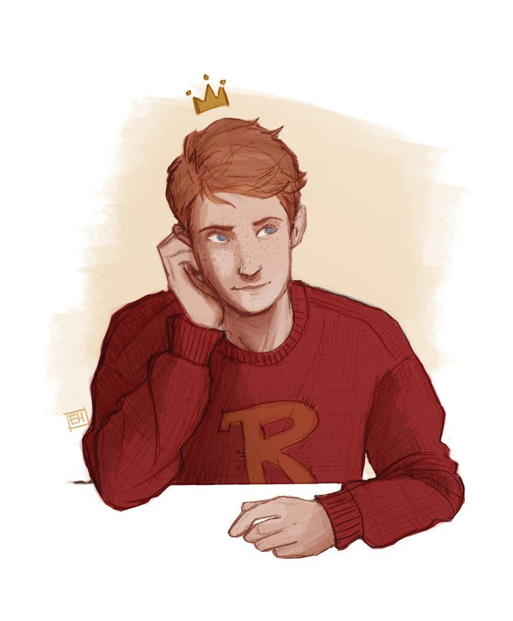 Ron Weasley art by emmilinne