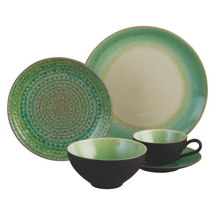 SINTRA Green side plate D21cm