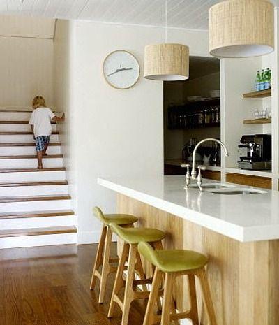 Cocina cocinas con pr cticas islas o barras cocina for Barras e islas para cocinas