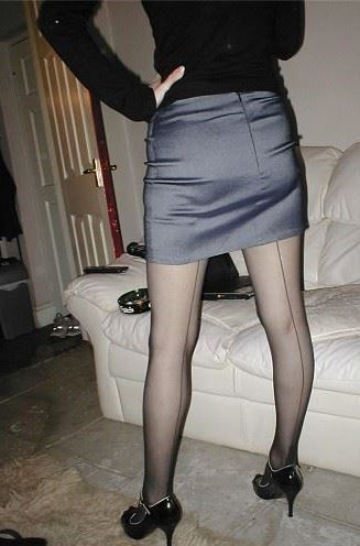 Skirts and nylons pics Tight fetish