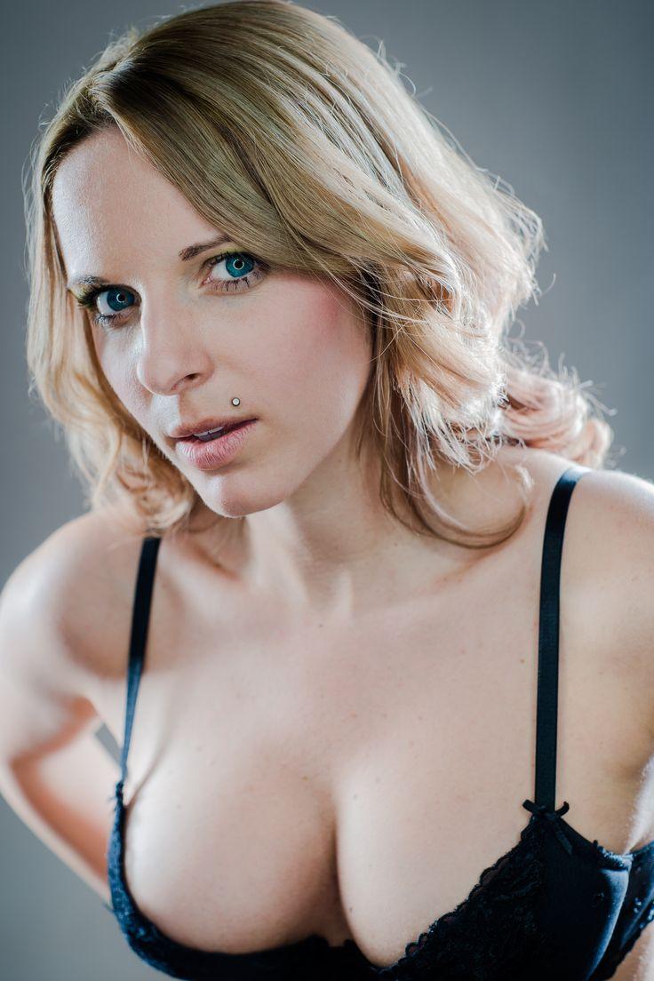 woman, ring light, sexy, bra