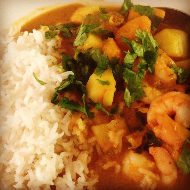 Red Prawn & Mango Curry – everyday food