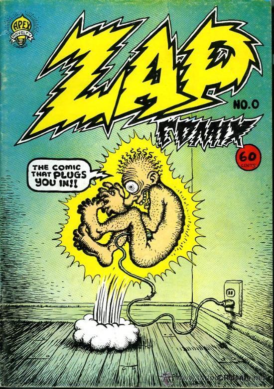 ZAP COMIX - Nº 0 - 1967 - 7ª EDICIÓN - ROBERT CRUMB - Foto 1