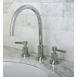 70 best images about bathroom on pinterest chrome finish polished chrome and portsmouth for Two tone widespread bathroom faucets