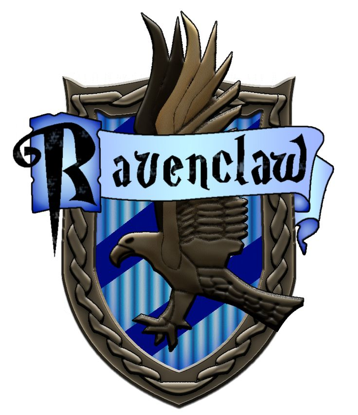 What Your Hogwarts House Says About You | Logos, Ravenclaw ... Ravenclaw House Crest