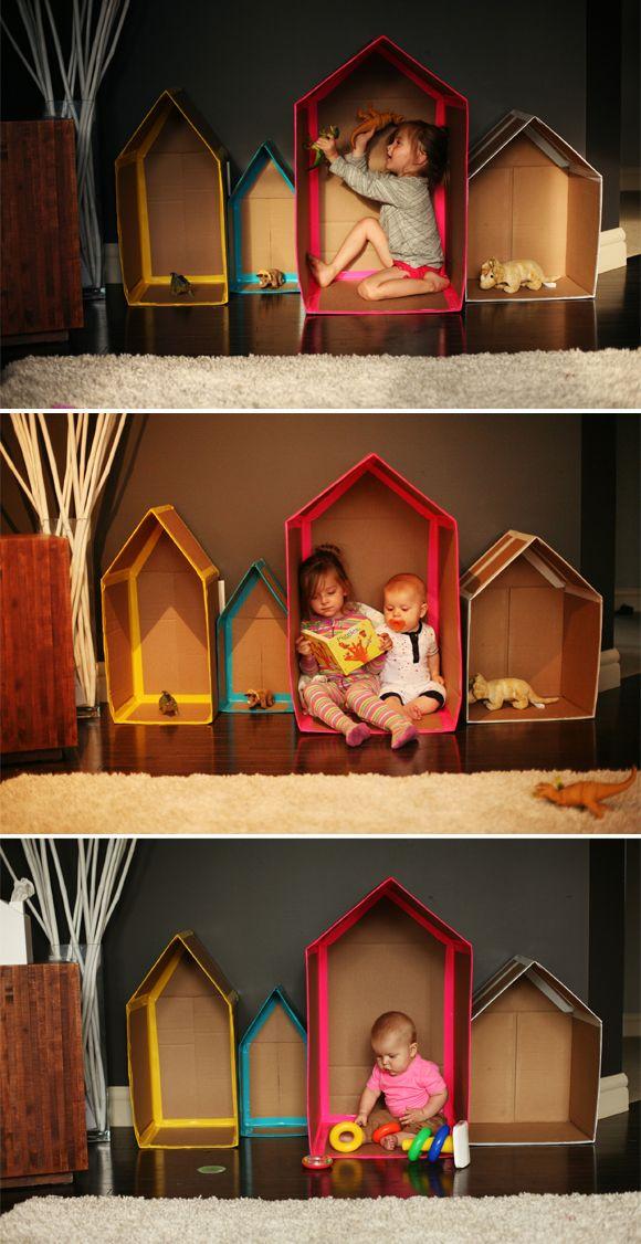 Junk modelling houses