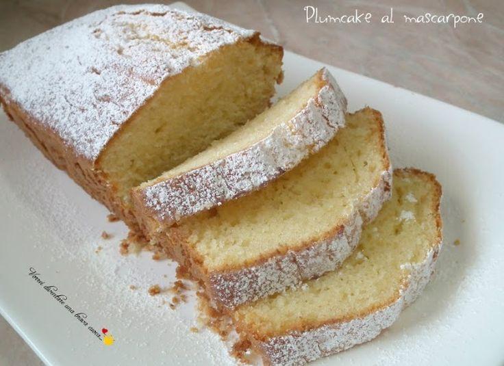 Plumcake al mascarpone - Ricette Blogger Riunite