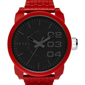 Diesel leather watches for men