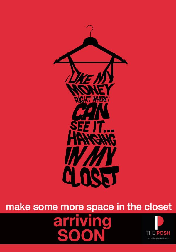 Make Some More Space In The Closet. THE POSH - arriving soon!