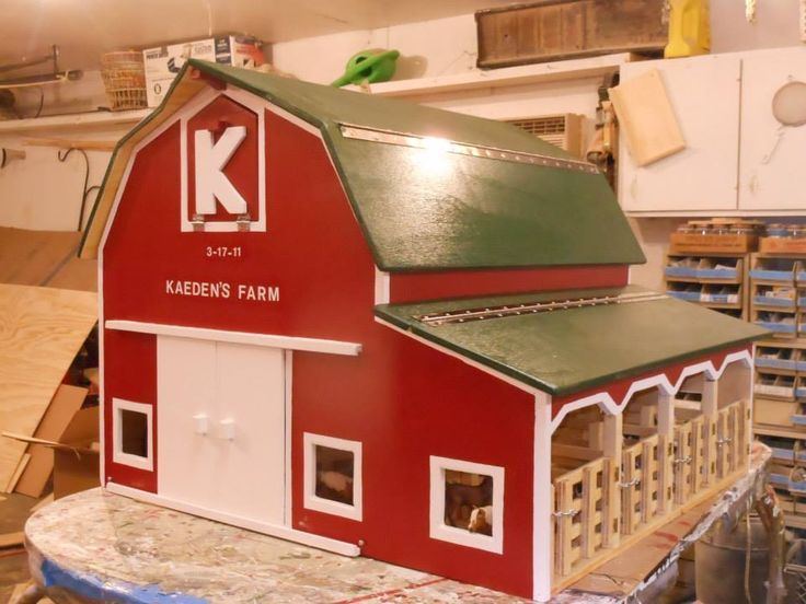Image Result For Toy Barn Plans Barn Toy Box Toy Barn Wooden