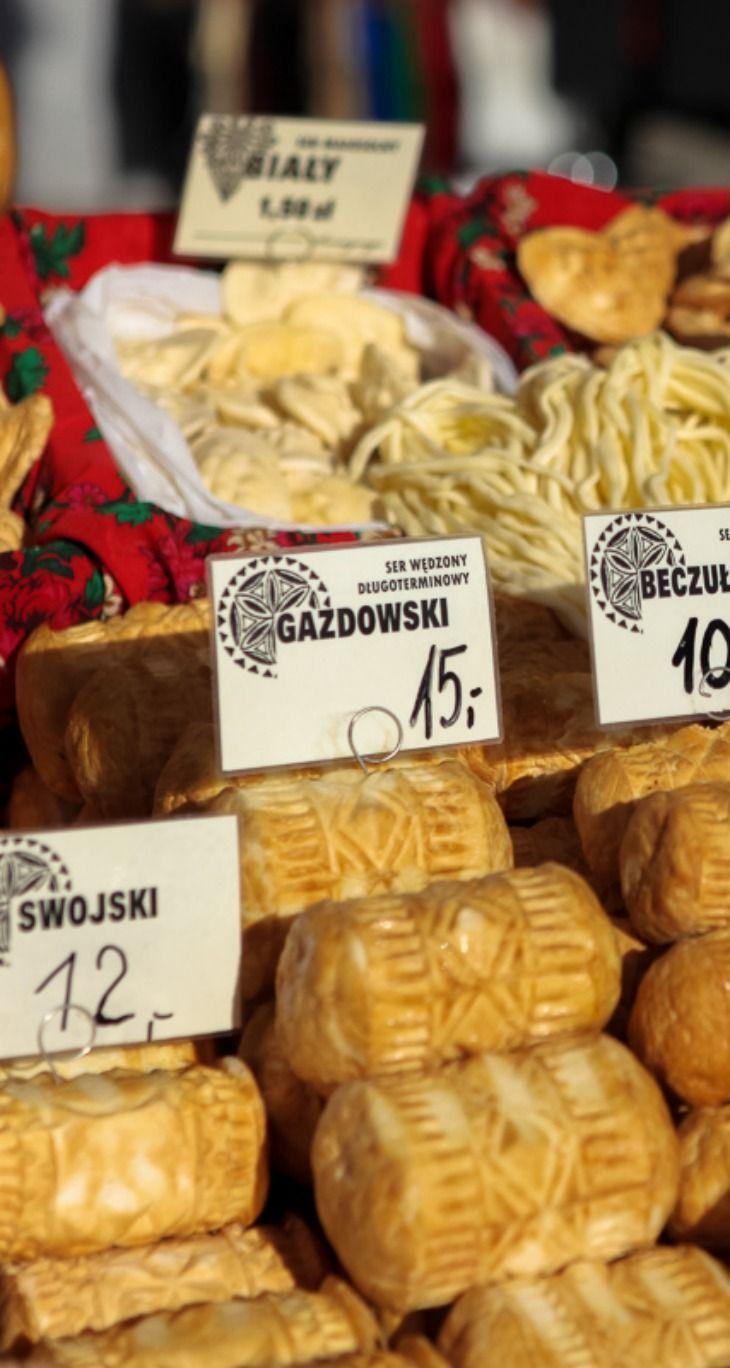 Oscypki in Zakopane, Poland