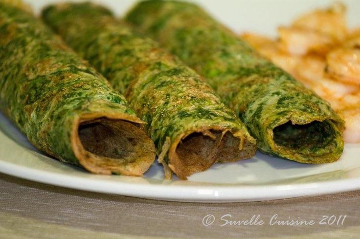 Suvelle Cuisine: Omelete de espinafres