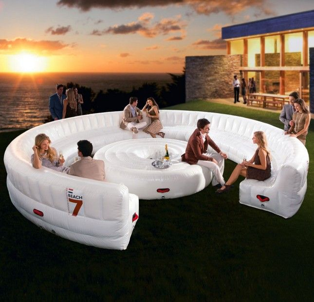 Inflatable 30 Person Living Room FurnitureLoungesParty