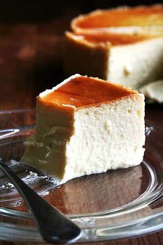 slice of lemon-ricotta cheese cake by alexandracooks, via Flickr