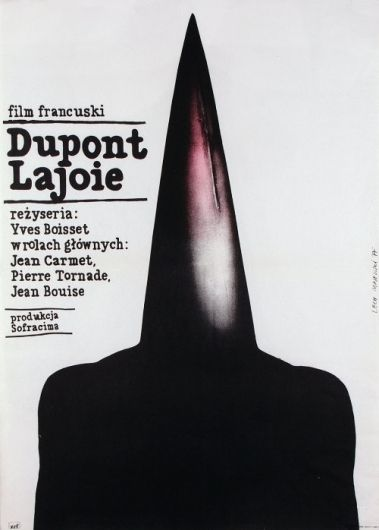 Dupont Lajoie - Film, French - Polish Movie Poster: Polish Posters Shop — Designspiration