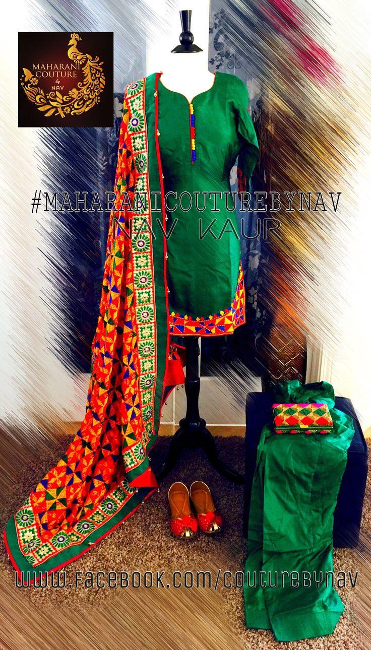 PHULKARI is a traditional hand embroidery means flower work. Bringing new design to my collection #phulkarilove#phulkarimotifs#phulkari#flowers#indianoutfit#pride#punjab#nawabitohar#colorful#designing#designbynav#sangeet#punjaban#ladysangeet#mahiya#jaggo#punjabisahi#sardarni#nawaban#viah#wedding#punjabibride#laces#love#lovemypassionforfashio#designerduppata#couturebynav
