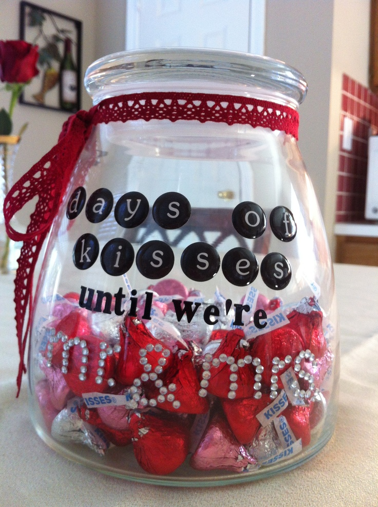 Wedding Countdown Jar/Valentines Day Gift - GREAT GIFT IDEA FOR JM/RM ...